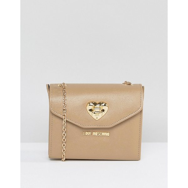 """LOVE MOSCHINO Cross Body Bag - """"""""Cart by Love Moschino, Faux leather outer, Contrast..."""