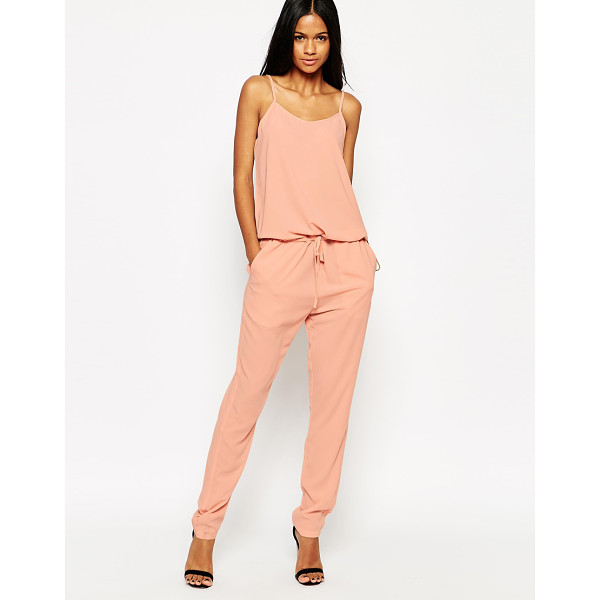 MBYM Jersey jumpsuit - Jumpsuit by mbyM Smooth, woven fabric Semi-sheer finish...