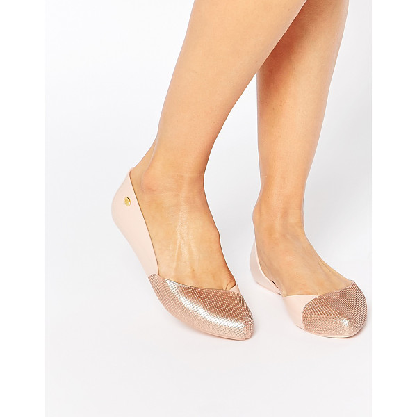MEL BY MELISSA Tangerina point flat shoes - Shoes by Mel by Melissa Recyclable plastic upper Subtle...