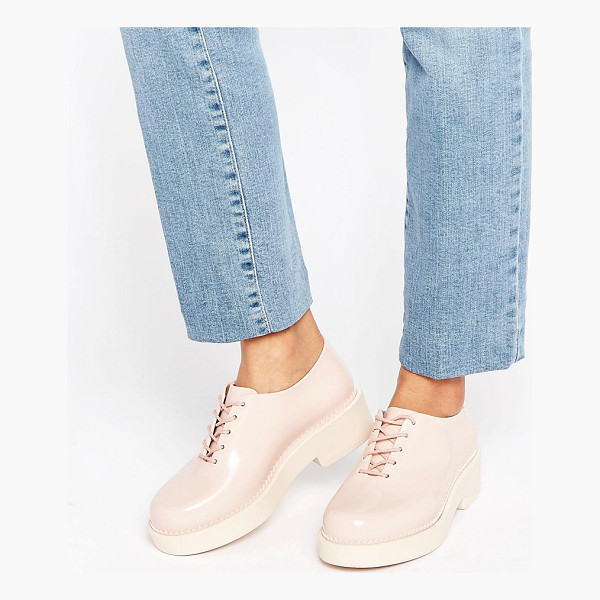 MELISSA Chunky Lace Up Shoe - Shoes by Melissa, Recyclable plastic upper, Subtle...