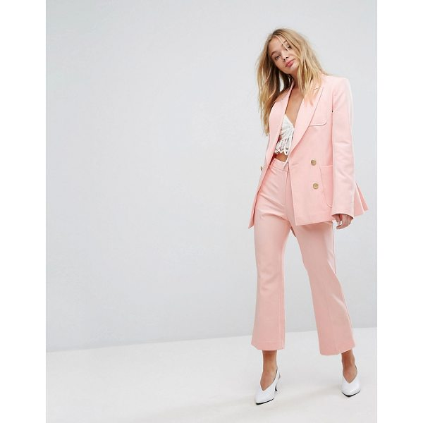 """MILLIE MACKINTOSH Cropped Kick Flares - """"""""Pants by Millie Mackintosh, Stretchy and lightweight..."""