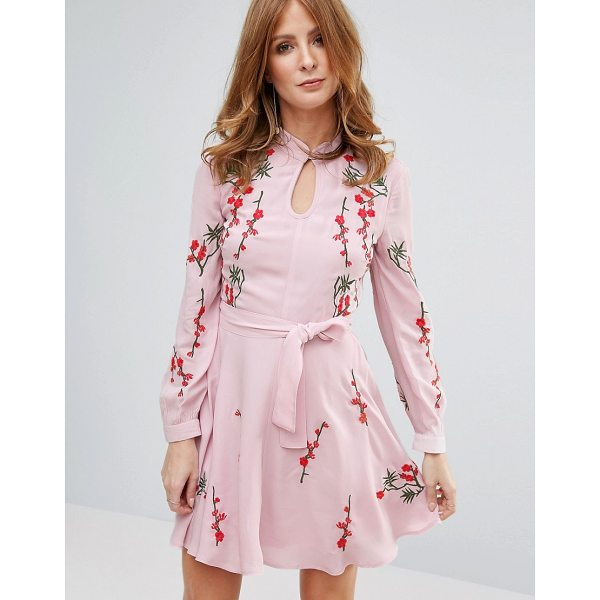 """MILLIE MACKINTOSH Pink Embroidred Dress - """"""""Dress by Millie Mackintosh, Lined woven fabric, High..."""