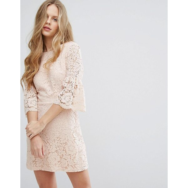 """MISS SELFRIDGE All Over Lace Dress - """"""""Lace dress by Miss Selfridge, Lined lace, High neckline,..."""