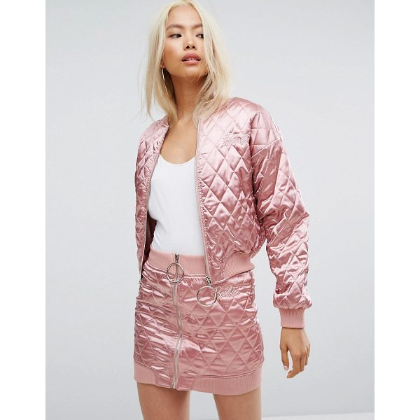 "MISSGUIDED Barbie Quilted Bomber Jacket - """"Bomber jacket by Missguided, Designed in collaboration..."