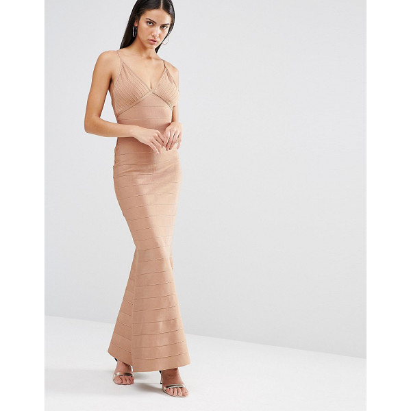 MISSGUIDED Cami bandage maxi dress - Maxi dress by Missguided Stretch bandage fabric Plunge...