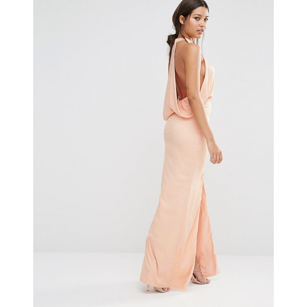 MISSGUIDED Cowl Back Maxi Dress - Maxi dress by Missguided, Woven fabric, High neckline,...