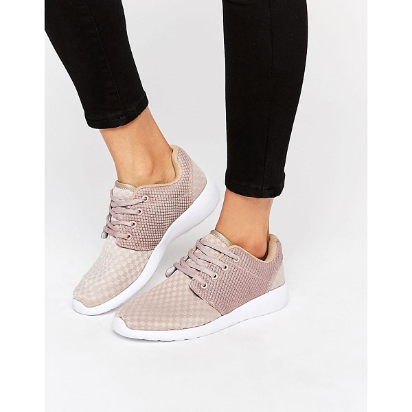 MISSGUIDED Lace Up Sneaker - Sneakers by Missguided, Textile upper, Lace-up fastening,...