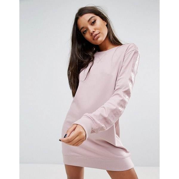 """MISSGUIDED Londunn Logo Sleeve Detail Sweat Dress - """"""""Dress by Missguided, Designed in collaboration with..."""