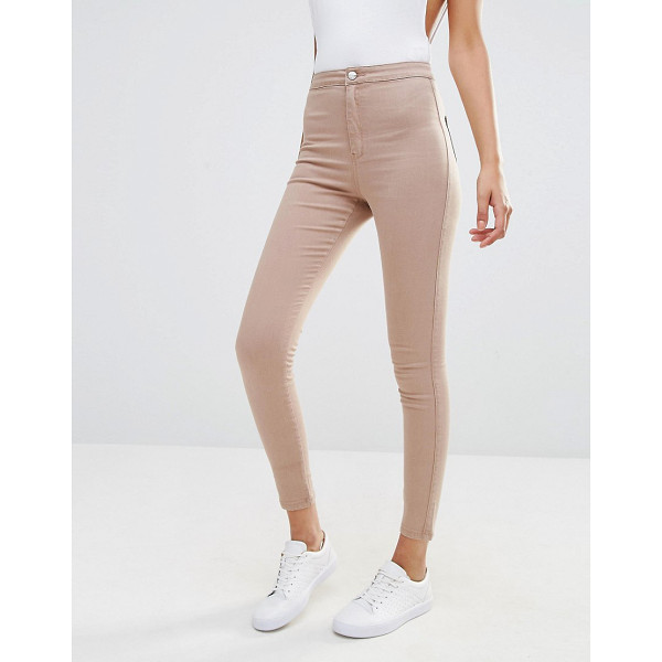 MISSGUIDED Vice High Waisted Skinny Jean - Skinny jeans by Missguided, Firm-stretch denim, High-rise...