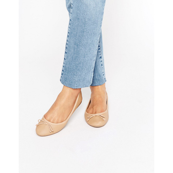 NEW LOOK Ballet Pump - Flat shoes by New Look, Faux-leather upper, Slip-on style,...