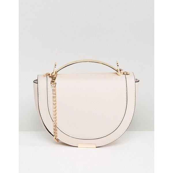 "NEW LOOK Circle Cross Body Bag - """"Cart by New Look, Faux-leather outer, Fully lined, Grab..."