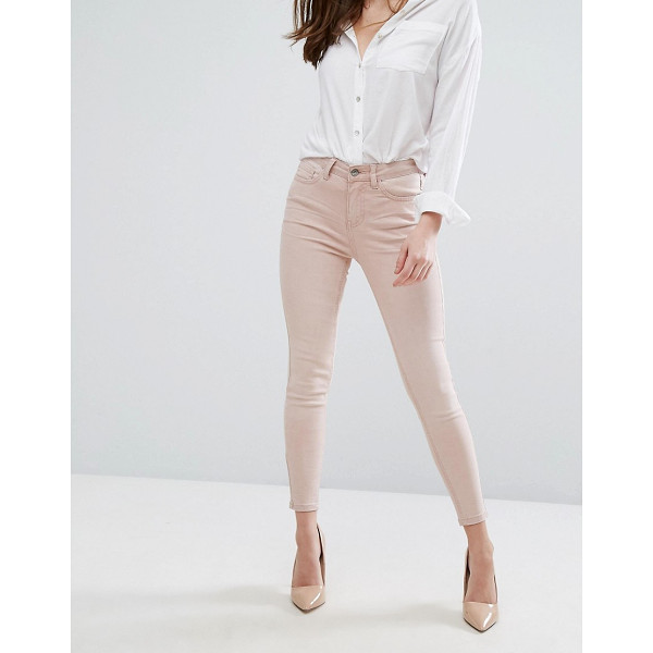 "NEW LOOK Colored Skinny Jeans - """"Skinny jeans by New Look, Stretch denim, Mid-rise waist,..."