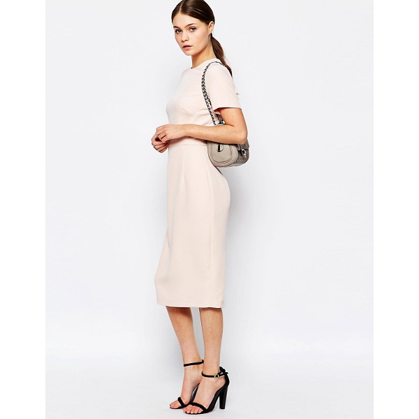 NEW LOOK Crepe Midi Dress - Midi dress by New Look, Crepe fabric, Added stretch for...