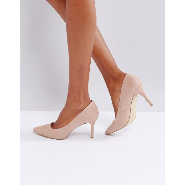 "NEW LOOK Heeled Pumps - """"Heels by New Look, Faux-suede upper, Slip-on style,..."
