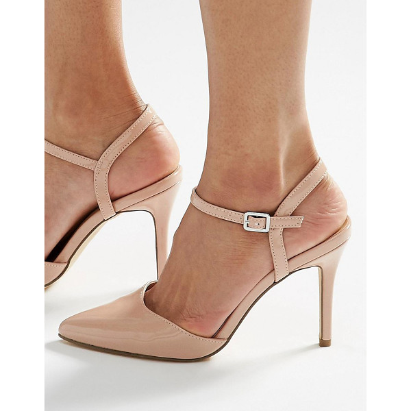 NEW LOOK Pointed heels - Heels by New Look, Faux-leather upper, Glossy finish,...