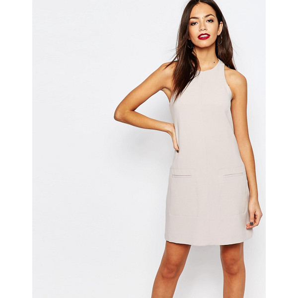 NEW LOOK Tailored Mini Dress - Dress by New Look, Soft-touch woven fabric, Fully lined,...