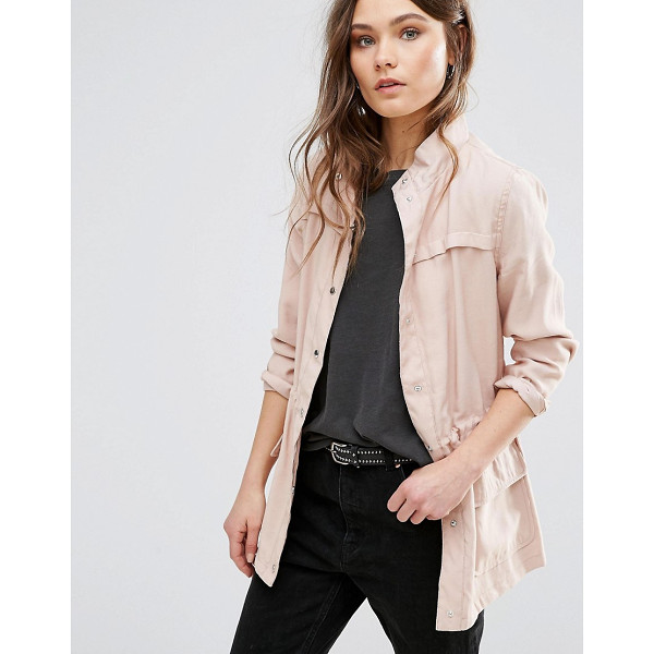 "NEW LOOK Utility Jacket - """"Jacket by New Look, Lightweight fabric, Stand collar,..."