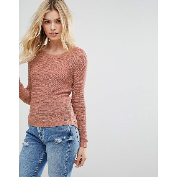 """ONLY Knitted Sweater - """"""""Sweater by Only, Smooth knit, Round neck, Branded tag,..."""