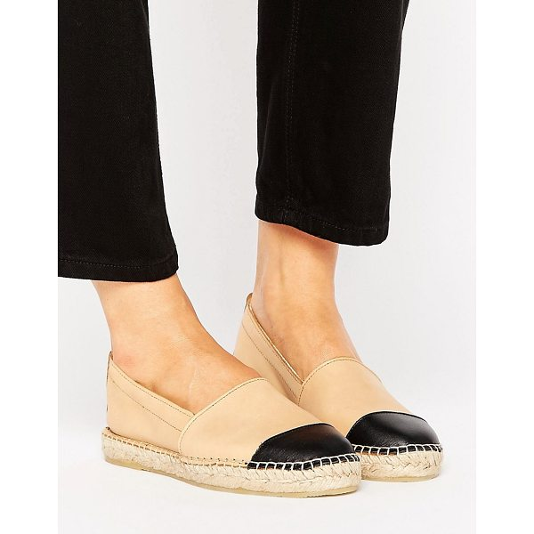 PARK LANE Leather Espadrille - Sandals by Park Lane, Leather upper, Slip-on design,...