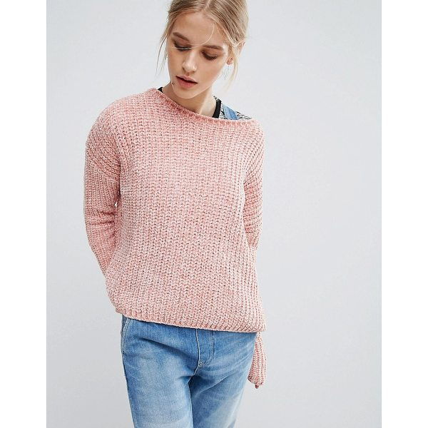 "PEPE JEANS Chana Knit Sweater - """"Sweater by Pepe Jeans, Chunky chenille knit, Super..."
