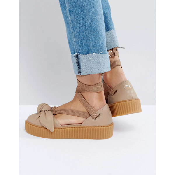 PUMA X Fenty Bow Creeper Sole Sandal - Sandals by PUMA, Designed in collaboration with Rihanna...