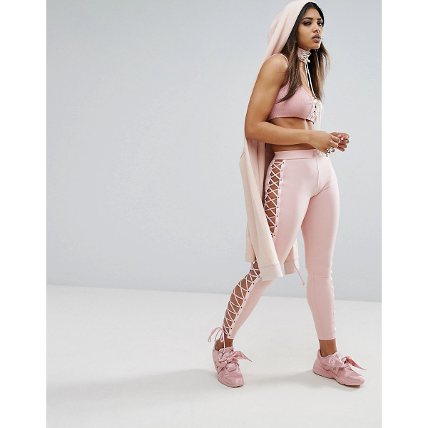 "PUMA X Fenty Satin Lacing Legging - """"Leggings by PUMA, Designed in collaboration with Rihanna..."