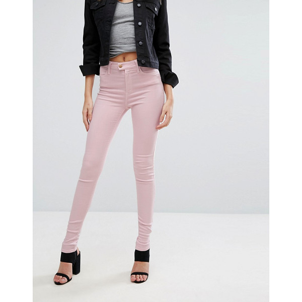 """REPLAY Touch Super High Rise Skinny Jeans - """"""""Skinny jeans by Replay, Stretch denim, High-rise waist,..."""