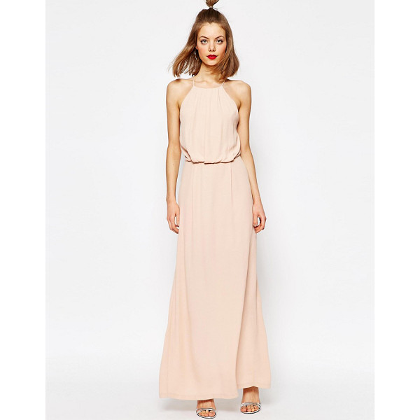 """SAMSOE & SAMSOE Samsoe & Samsoe Willow Maxi Dress with Lace Inserts - """"""""Maxi dress by Samsoe Samsoe, Soft-touch woven fabric,..."""