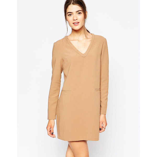 SEE U SOON Shift dress with pocket detail - Casual dress by See U Soon Unlined woven fabric Mid-weight,...