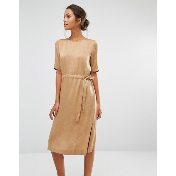 "SELECTED Chari Tie Dress - """"Dress by Selected, Lightweight woven fabric, Fully lined,..."