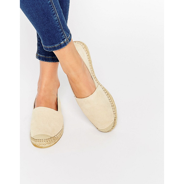 SELECTED Femme Marley Suede Espadrille Shoes - Shoes by Selected, Suede upper, Slip-on style, Round toe,...