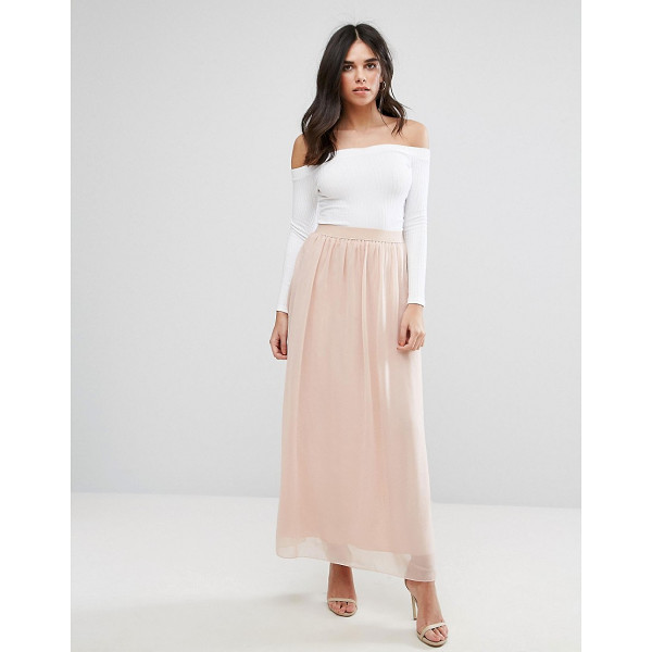 SOAKED IN LUXURY Soaked - Skirt by Soaked In Luxury, Lined chiffon, High-rise...