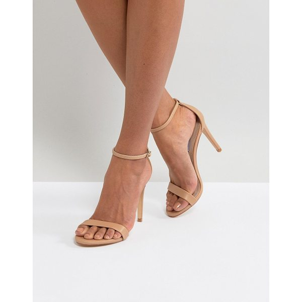 STEVE MADDEN Stecy Barely There Sandals - Sandals by Steve Madden, Ankle-strap fastening, Open toe,...