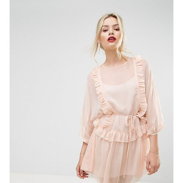 "STEVIE MAY Whistlers Exclusive Frill Mini Dress - """"Dress by Stevie May, Semi-sheer woven fabric, Fully..."