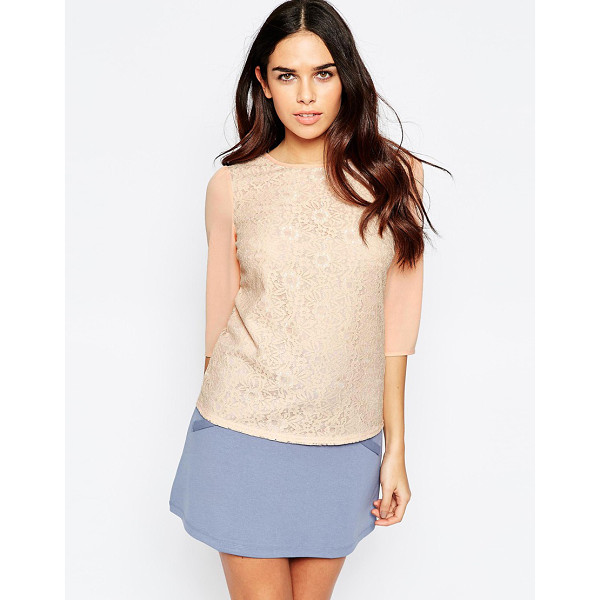SUGARHILL BOUTIQUE Summer blouse in lace - Top by Sugarhill Boutique Lightweight, woven fabric...