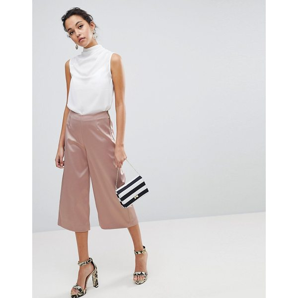 TED BAKER Berilo Wide Leg Culottes - Culottes by Ted Baker, High-rise waist, Just like your...