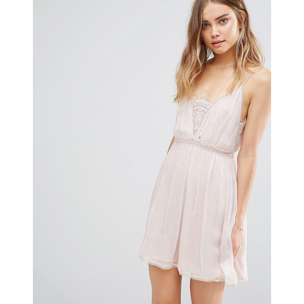 THE JETSET DIARIES Basilica Slip Dress - Dress by The Jetset Diaries, Lightly crinkled woven fabric,...
