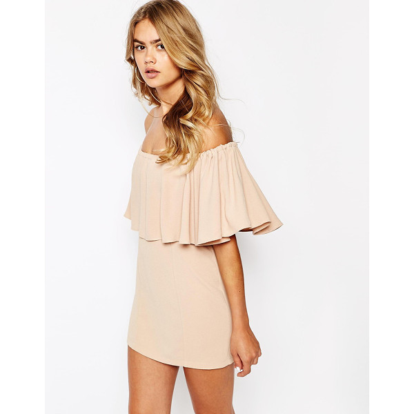 THE LADEN SHOWROOM X house of pearl frill bandeau dress - Evening dress by The Laden Showroom Lightweight, textured...