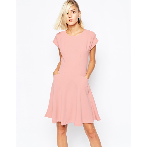 THE LADEN SHOWROOM X meekat tea dress in rose - Dress by The Laden Showroom Unlined, lightweight woven...