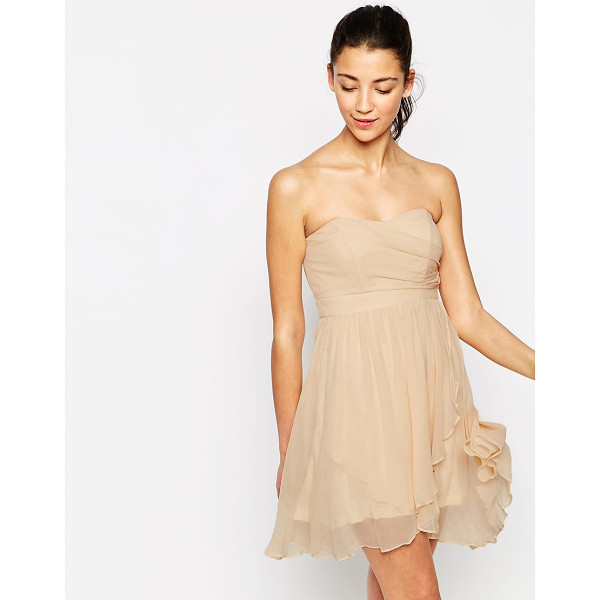 TRAFFIC PEOPLE All i ever wanted strapless dress in silk - Dress by Traffic People Lined woven silk Strapless...