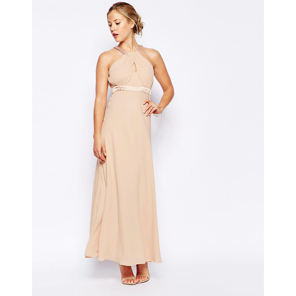TRAFFIC PEOPLE Candy Rainbow lets Dance Maxi Dress With Cross Front - Maxi dress by Traffic People, Soft-touch crepe, Cotton...