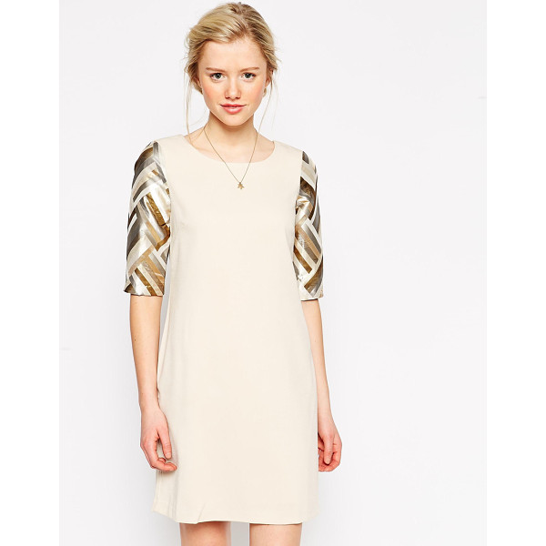 TRAFFIC PEOPLE Love to Love You Dress - Dress by Traffic People, Mid-weight soft touch lined...