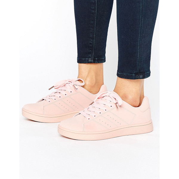 TRUFFLE COLLECTION Truffle Color Drench Sneaker - Shoes by Truffle, Faux-leather upper, Lace-up fastening,...
