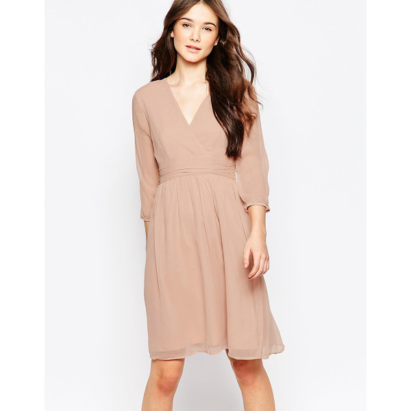 VERO MODA 3/4 sleeve midi dress - Casual dress by Vero Moda Super lightweight chiffon Fully...