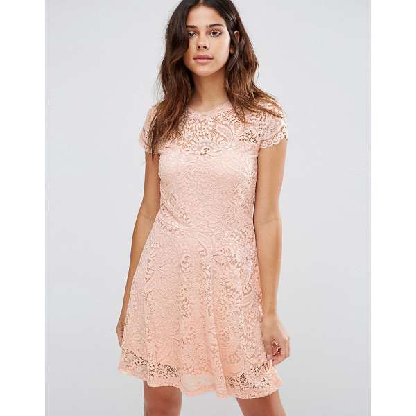 "VERO MODA Lace Mini Dress - """"Casual dress by Vero Moda, Lined lace, Round neckline,..."