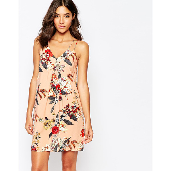 WAREHOUSE Floral cami dress - Dress by Warehouse Lightweight woven fabric V-neckline...