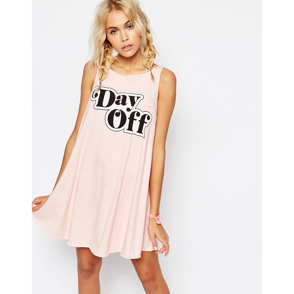 WILDFOX Cassidy Tank Dress - Casual dress by Wildfox, Soft-touch jersey, Round neckline,...