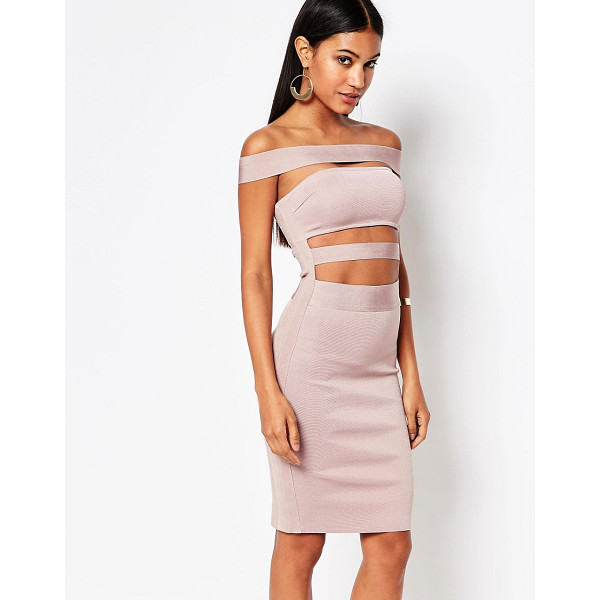 "WOW COUTURE WOW Couture Off Shoulder Bandage Dress - """"Dress by Wow Couture, Mid-weight bandage fabric,..."