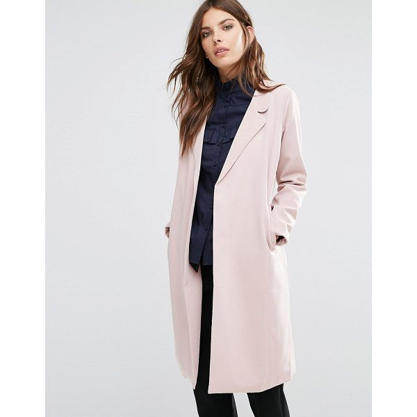 "Y.A.S Anna Trenchcoat - """"Coat by Y.A.S, Woven fabric, Notch lapels, Self-tie waist..."