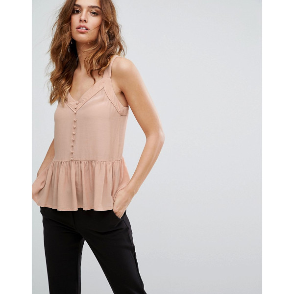 Y.A.S Button Down Top - Top by Y.A.S, Lightweight woven fabric, V-neck, Button...